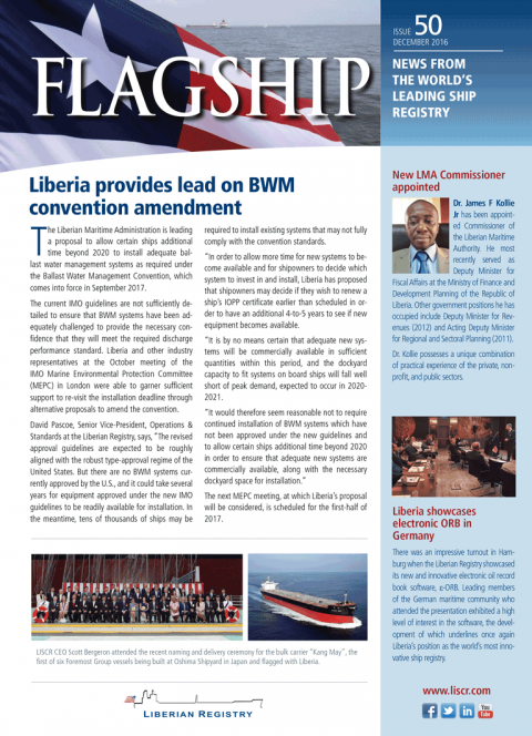 News from the World's Leading Ship Registry